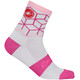 Castelli Vertice Socks Women white/raspberry